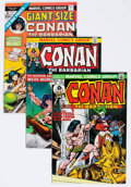 Bronze Age (1970-1979):Adventure, Conan the Barbarian Group of 14 (Marvel, 1973-76) Condition: Average NM.... (Total: 14 Comic Books)