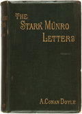 Books:Mystery & Detective Fiction, A[rthur] Conan Doyle, editor. The Stark Munro Letters. London: Longmans, Green, and Co., 1895....