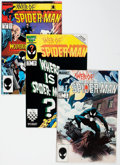 Modern Age (1980-Present):Superhero, Web of Spider-Man #1-129 Complete Series Box Lot (Marvel, 1985-95)Condition: Average NM-....