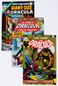 Bronze Age (1970-1979):Horror, Tomb of Dracula Group of 9 (Marvel, 1972-79) Condition: AverageNM-.... (Total: 9 Comic Books)