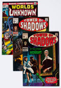 Silver Age (1956-1969):Horror, Tower of Shadows/Worlds Unknown Group of 11 (Marvel, 1970s)....(Total: 11 Comic Books)
