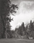 Photographs, Ansel Adams (American, 1902-1984). El Capitan, Sunrise, Winter, Yosemite, pl. 10 (from Portfolio VII), 1968. Seleniu...