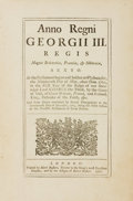 Books:World History, [Law]. Anno Regni Georgeii III. An Act for Indemnifying Persons Who Have Incurred Certain Penalties Inflicted by an Act ...