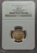 Civil War Merchants, 1864 City Fruit Store, Providence, Rhode Island, MS64 NGC.Fuld-RI700G-2d, R.9....