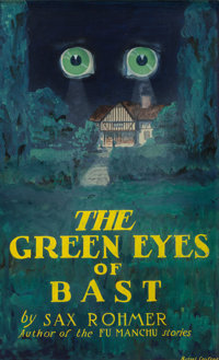 Russell Crofoot (American, 20th Century) The Green Eyes of Bast, book cover, 1920 Gouache on board