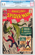 Silver Age (1956-1969):Superhero, The Amazing Spider-Man #2 (Marvel, 1963) CGC FN- 5.5 Cream to off-white pages....