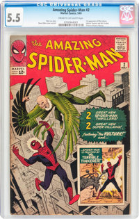 The Amazing Spider-Man #2 (Marvel, 1963) CGC FN- 5.5 Cream to off-white pages