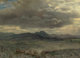Albert Bierstadt (American, 1830-1902) Cloud Study in San Francisco, 1873 Oil on paper laid on board 14 x 19 inches (