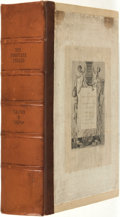 Books:Sporting Books, [Sporting Books]. Izaak Walton and Charles Cotton. John Major,editor. LIMITED EDITION. The Complete Angler or the Conte...