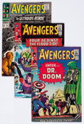 Silver Age (1956-1969):Superhero, The Avengers Group of 24 (Marvel, 1966-74) Condition: Average FN/VF.... (Total: 24 Comic Books)