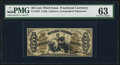Fractional Currency:Third Issue, Fr. 1355 50¢ Third Issue Justice PMG Choice Uncirculated 63.. ...
