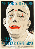 "Movie Posters:Drama, He Who Gets Slapped (MGM, 1924). Swedish One Sheet (34.5"" X47.5"").. ..."