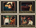 "Movie Posters:Drama, Rebel without a Cause (Warner Brothers, 1955). Lobby Cards (4) (11""X 14"").. ... (Total: 4 Items)"