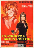 "Movie Posters:Foreign, Girl with a Pistol (Euro International, 1968). Italian 4 - Fogli (55"" X 78"") Giorgio Olivetti Artwork.. ..."