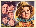 "Movie Posters:Musical, Captain January (20th Century Fox, 1936). Half Sheet (22"" X 28"")Style A.. ..."
