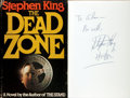 Books:Horror & Supernatural, Stephen King. INSCRIBED. The Dead Zone. New York: VikingPress, [1979]....