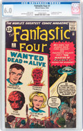 Silver Age (1956-1969):Superhero, Fantastic Four #7 (Marvel, 1962) CGC FN 6.0 Off-white to white pages....