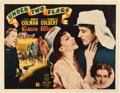"Movie Posters:Adventure, Under Two Flags (20th Century Fox, 1936). Half Sheet (22"" X 28"") Style B.. ..."