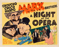 "Movie Posters:Comedy, A Night at the Opera (MGM, 1935). Half Sheet (22"" X 28"").. ..."