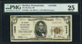 National Bank Notes:Pennsylvania, Hershey, PA - $5 1929 Ty. 1 The Hershey NB Ch. # 12688. ...