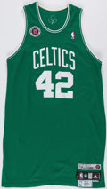 "Basketball Collectibles:Uniforms, 2007 Tony Allen Game Worn Boston Celtics ""Europe/London"" Jersey...."
