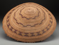 American Indian Art:Baskets, A Pomo Twined Tray ...