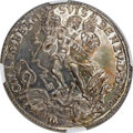 Switzerland:Beromuenster, Switzerland: Beromuenster. Abbey 1/2 Taler ND (ca. 1720) MS64NGC,...