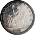 Patterns: , 1873 T$1 Trade Dollar, Judd-1315, Pollock-1458, R.4, PR63 CameoPCGS. Bailly's trade dollar design features a long-legged L...