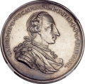 Mexico, Mexico: Charles III Nueva Cantabria silver Proclamation Medal ND(1761) MS61 NGC,...