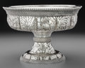 Silver Holloware, American:Bowls, A Tiffany & Co. Silver Center Bowl with Bead and ChrysanthemumMotif, New York, New York, circa 1873-1891. Marks: TIFFANY...