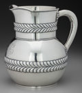 Silver Holloware, American:Water Pitchers, A Tiffany & Co. Silver Water Pitcher, New York, New York, circa1892-1902. Marks: TIFFANY & CO, 4706 MAKERS 5189,STERLING...