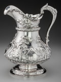 Silver Holloware, American:Water Pitchers, A Gorham Silver Water Pitcher with Repoussé Landscape, Providence,Rhode Island, circa 1900-1901. Marks: (lion-anchor-G), ...