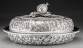 Silver Holloware, American:Vegetable Dish, An S. Kirk & Son Coin Silver Landscape Covered Vegetable Dish,Baltimore, Maryland, circa 1860-1870. Marks: S. KIRK &SON,...