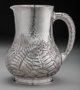 A Dominick & Haff Japanesque Silver Water Pitcher, New York, New York, circa 1881 Marks: (925 rectangle-sphere-1...