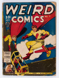 Golden Age (1938-1955):Superhero, Weird Comics #7 (Fox Features Syndicate, 1940) Condition: Qualified GD-....