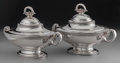 Silver Holloware, American:Vegetable Dish, A Pair of Tiffany & Co. Silver Covered Tureens, New York, NewYork, circa 1870. Marks: TIFFANY & CO., 2561, QUALITY925-10... (Total: 2 )