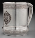 Silver Holloware, American:Cups, A Gorham Silver Cup with Applied Imperial Russian Eagle,Providence, Rhode Island, circa 1892. Marks: (lion-anchor-G),(date...
