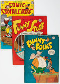 Golden Age (1938-1955):Funny Animal, DC Golden and Silver Age Funny Animal Comics Box Lot (DC,1950s-60s) Condition: Average FR....