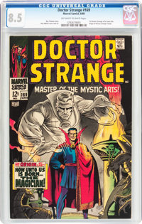 Doctor Strange #169 (Marvel, 1968) CGC VF+ 8.5 Off-white to white pages