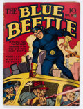 Golden Age (1938-1955):Superhero, Blue Beetle #3 (Fox Features Syndicate, 1940) Condition: Apparent GD/VG....