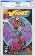 Modern Age (1980-Present):Superhero, X-Force #2 (Marvel, 1991) CGC NM/MT 9.8 White pages....