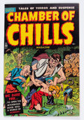 Golden Age (1938-1955):Horror, Chamber of Chills #23 (#3) File Copy (Harvey, 1951) Condition:VG+....