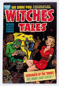 Golden Age (1938-1955):Horror, Witches Tales #6 File Copy (Harvey, 1951) Condition: VG+....