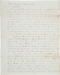 Miscellaneous, [Abolition]. Draft of Memorial from Marietta College Students toForm an Anti-Slavery Society....