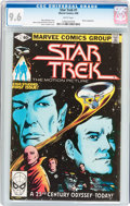 Modern Age (1980-Present):Science Fiction, Star Trek #1 (Marvel, 1980) CGC NM+ 9.6 White pages....