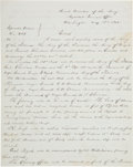 Autographs:Military Figures, [Ulysses S. Grant]. Official Copy of General Orders No. 239, Calling for a Grand Review at the Close of the War....