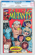 Modern Age (1980-Present):Superhero, The New Mutants #87 (Marvel, 1990) CGC NM 9.4 White pages....