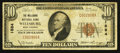 National Bank Notes:West Virginia, Wellsburg, WV - $10 1929 Ty. 1 The Wellsburg NB Ch. # 1884. ...