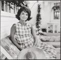 Photographs, Jacques Lowe (American, 1930-2001). Jackie in Hyannis Port, 1960. Gelatin silver, printed later. 13-3/4 x 13-5/8 inches ...