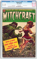 Golden Age (1938-1955):Horror, Witchcraft #5 (Avon, 1953) CGC VG/FN 5.0 Off-white pages....